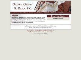Firm Logo for Gaines, Gaines & Rasco, P.C.
