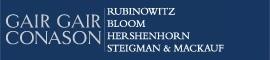 Firm Logo for Gair Gair Conason Rubinowitz Bloom Hershenhorn Steigman Mackauf