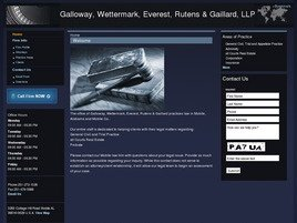 Firm Logo for Galloway Wettermark Everest Rutens Gaillard LLP