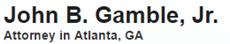 Firm Logo for Gamble Law LLC