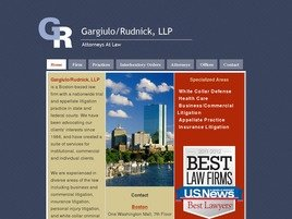 Firm Logo for Gargiulo/Rudnick LLP