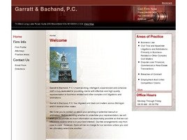 Firm Logo for Garratt Bachand P.C.