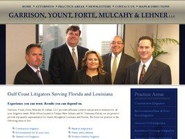 Firm Logo for Garrison, Yount, Forte, Mulcahy & Lehner L.L.C.