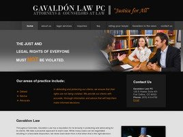 Gavaldón Law, P.C. Law Firm Logo