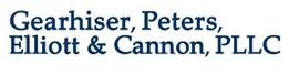 Gearhiser, Peters, Elliott & Cannon, PLLC Law Firm Logo