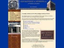 Firm Logo for Gess Mattingly & Atchison, P.S.C.