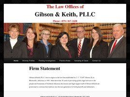 Firm Logo for Gibson Keith PLLC
