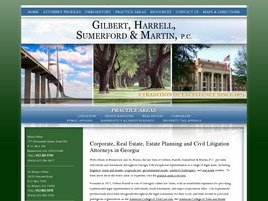 Gilbert, Harrell, Sumerford <br />& Martin, P.C. Law Firm Logo