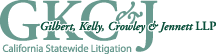 Gilbert, Kelly, Crowley & Jennett LLP Law Firm Logo
