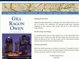 Gill Ragon Owen, P.A. Law Firm Logo