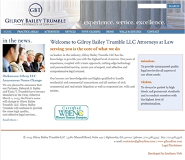 Firm Logo for Gilroy Bailey Trumble LLC