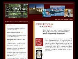 Gold, Weems, Bruser, Sues & Rundell <br />A Professional Law Corporation Law Firm Logo