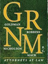Goldman, Robbins, Nicholson & Mack, P.C. Law Firm Logo