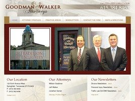 Goodman and Walker Law Firm Logo