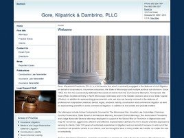 Firm Logo for Gore Kilpatrick Dambrino PLLC