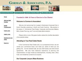 Firm Logo for Gorman Associates P.A.