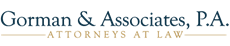 Gorman & Associates, P.A. Law Firm Logo