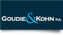 Firm Logo for Goudie Kohn P.A.