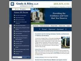 Firm Logo for Grady & Riley, L.L.P.