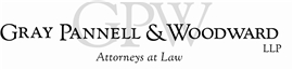 Gray Pannell & Woodward LLP Law Firm Logo