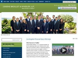 Firm Logo for Greene Broillet Wheeler LLP
