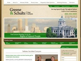 Greene & Schultz Trial Lawyers Law Firm Logo