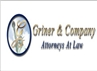 Firm Logo for Griner & Company <br />Attorneys at Law