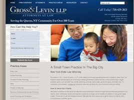 Gross & Levin LLP Law Firm Logo