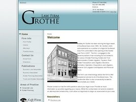 Grothe Law Firm Law Firm Logo