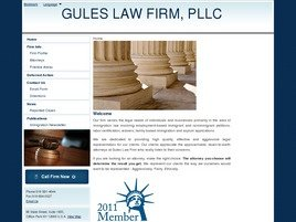 Firm Logo for Gules Law Firm PLLC
