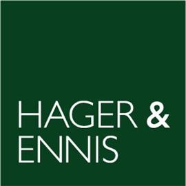 Hager & Ennis Law Firm Logo