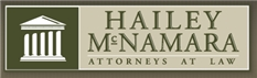 Hailey, McNamara, Hall, Larmann <br />& Papale, L.L.P. Law Firm Logo