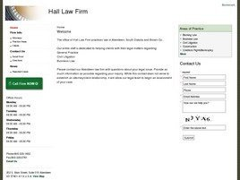 Firm Logo for Hall Law Firm