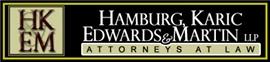Firm Logo for Hamburg Karic Edwards Martin LLP