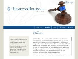 Firm Logo for HamptonHolley LLP