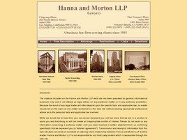 Firm Logo for Hanna Morton LLP