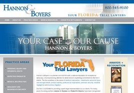 Hannon & Boyers, P.A. Law Firm Logo