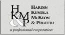 Firm Logo for Hardin, Kundla, McKeon & Poletto, P.A. <br />A Professional Corporation