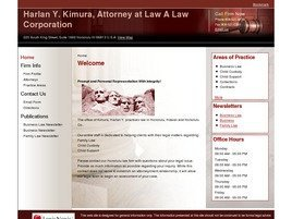 Firm Logo for Harlan Y. Kimura Attorney at Law A Law Corporation