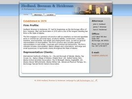 Brennan & Heideman A Professional Corporation Law Firm Logo