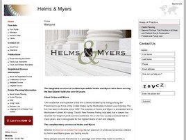 Firm Logo for Helms Myers