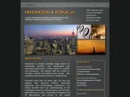 Firm Logo for Henderson & Koplik LLP