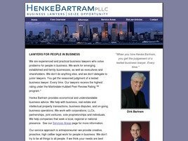Firm Logo for Henke Bartram PLLC