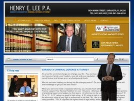 Henry E. Lee P.A. Law Firm Logo