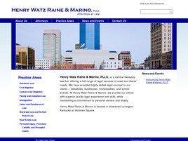Firm Logo for Henry Watz Raine & Marino, PLLC