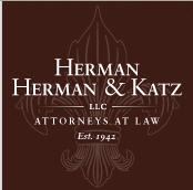 Herman, Herman & Katz, L.L.C. Law Firm Logo
