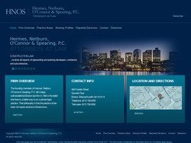 Hermes, Netburn, O'Connor <br />& Spearing, P.C. Law Firm Logo