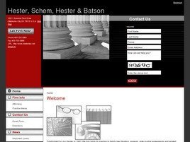 Firm Logo for Hester Schem Hester Batson