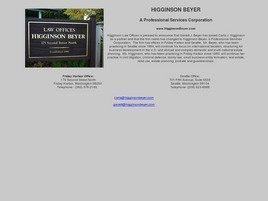 Firm Logo for Higginson Beyer A Professional Services Corporation