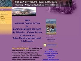 Firm Logo for Hill Law Offices PC